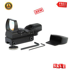 22mm Rail Guide Red Dot Sight 4 Reticle Reflex Scope For Airsoft Tactical Rifle