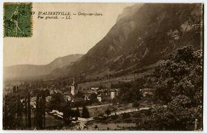 CPA 73 Savoie Environs d'Albertville Grésy-sur-Isère Vue générale