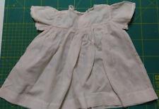 2 vintage antique doll dress. abito, per bambola anni '40 Rarità + impermeabile