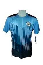 Manchester City F.C. Soccer Official Adult Poly Jersey J018 - XL