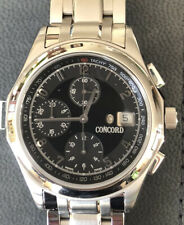 MEN'S CONCORD VENTU CHRONOGRAPH  AUTOMATIC WATCH 37 JEWEL STAINLESS STEEL
