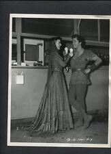 JOHN DEREK + DIANA LYNN EAT ICE CREAM - 1950 DBLWT BY CHRISTIE - MATTE FINISH