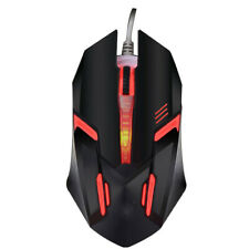 Wired USB Optical Gaming Colorful Light Mice Mouse For PC Laptop Desktop Game RF