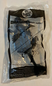 2010 How To Train Your Dragon NIGHT FURY Mcdonalds Happy Meal Toy - Sealed