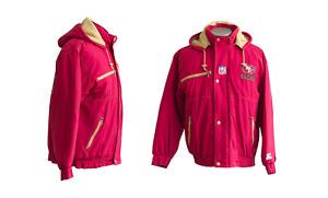 Vintage 1990's NFL San Francisco 49ers Pro Line by Starter Jacket w/Hood
