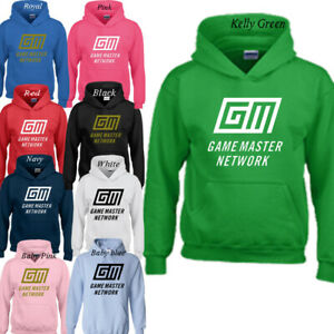 Game Master Network Kids Hoodie Rebecca Zamolo Adult's Hooded Sweatshirt New