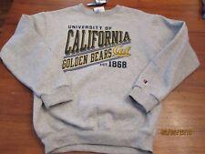 New Size L Youth YK  Champion University California Cal Golden Bears Sweatshirt