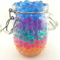 12 COLORS WATER PLANT WEDDING HOME DECOR VASE AQUA CRYSTAL SOIL BEADS GEL BALL