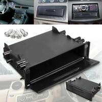1Pc New ABS Single Din Car CD Player Radio Stereo Dash Trim Storage Pocket Box