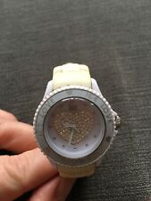 Montre Blanche ICE WATCH coeur Strass