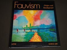 1982 FAUVISM ORIGINS & DEVELOPEMENT BY MARCEL GIRY HARDCOVER BOOK - I 692