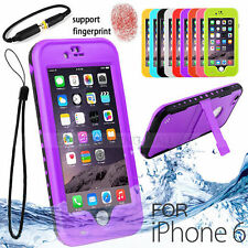 Unbranded/Generic Silicone/Gel/Rubber Waterproof Mobile Phone Cases, Covers & Skins for iPhone 6
