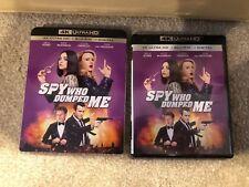 The Spy Who Dumped Me 4K Ultra HD 1 Disc Set ( No Digital) - Ship Now