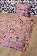 Pip Studio ropa de cama Spring To Life Petit fucsia 2 piezas 135x200cm+80x80cm