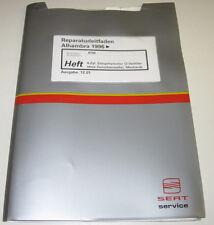 Werkstatthandbuch Seat Alhambra 4 Zylinder 2 Ventier Motor ohne Zwischenwelle