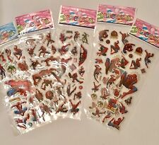Spider-Man Sticker Sheets X 10