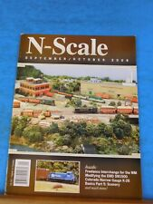 N Scale Magazine 2009 September October Scenery Modeling the EMD SW1500 in N Sca