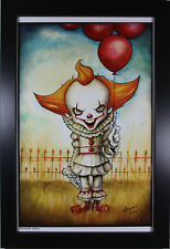 PENNYWISE ART PRINT ~ Motor City Comic Con 2018 ~ Signed by Chris Uminga