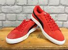 PUMA UK 5 1/2 EU 38 1/2 RED SUEDE TRAINERS RRP £55