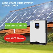 60A MPPT Solar Inverter 2400W 220V Reine Sinus-Wechselrichter 60A Ladegerät