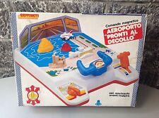 Vintage 80S Blue-Box Dashboard Airplane Airport Nib Very Rare console