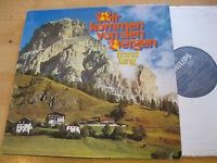 LP Franzl Lang Wir kommen von den Bergen Vinyl Philips 62 432 Club Sonderauflage