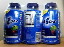 (3-Pack) ONE A DAY MEN'S Vitacraves Multivitamin Vitamins 170 Gummies exp 01/22