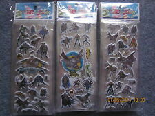 Batman Stickers buy 5 sticker sheets and get 5 free birthday party supplies new