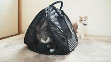 Soft Pet Carrier For Cat Kitten Ultralight Collapsible Summer Mesh Tote bag