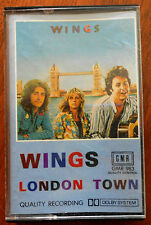Wings-London Town Cassette
