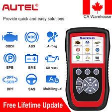 Autel MaxiCheck Pro Auto Scanner OBD2 Fault Code Reader EPB ABS SRS SAS DPF BMS