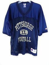 WOW - Vintage Pittsburgh Practice College Football Jersey - Champion Adult L 44