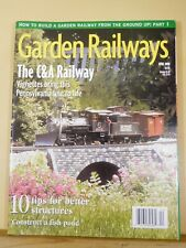 Garden Railways Magazine 2000 April Fish Pond Better structures Getting started