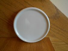 Longaberger Ivory Crock Lid / Coaster Pottery fits 1-Pint *shipping included!*