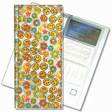 Smiley Face Flower Business Card Book File Lenticular #R-077-BF128#