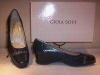 Scarpe comode decoltè decolletè Gioia Soft donna classiche eleganti zeppa 35 36
