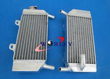FOR HONDA CRF250R CRF250X 2004 2005 2006 2007 2008 2009 ALUMINUM RADIATOR