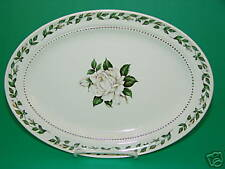 Cameo Rose Hall Platter 11.25 in Oval