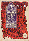 GRATEFUL DEAD - HIGH QUALITY EARLY VINTAGE CONCERT POSTER - LOOKS AWESOME FRAMED