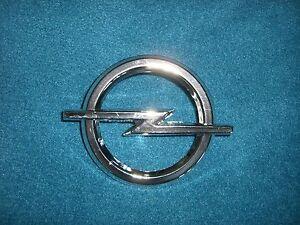 Emblem / Badge Opel Blitz Kühlergrill ca.76 mm Durchmesser, 2 Befestigungsstifte