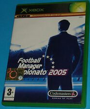 Football Manager Campionato 2005 - Microsoft XBOX - PAL