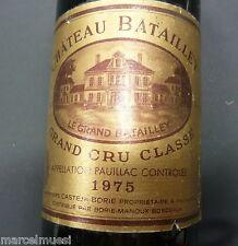 Chateau Batailley 1975 * GRAND CRU CLASSÉ