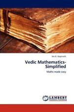 Vedic Mathematics-Simplified by Jini K. Gopinath (2012, Paperback)