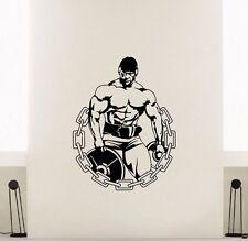 Bodybuilder Fitness  Wandtattoo Wallpaper Wand Schmuck 58 x 75 cm Wandbild