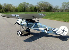 Giant 1/3 Scale German WW-I Fokker D. VIII Monoplane Plans and Templates 110ws