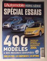 L AUTOMOBILE MAGAZINE HORS SERIE 2003/2004 - SPECIAL ESSAIS *
