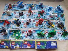 LEGO ADVENT CALENDAR SET 4924, BUILD 24 MODELS, 4 TREE DECORATIONS OR 4 SCENES