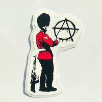 Banksy Sticker Anarchy Beefeater Vinyl Decal Street Art Graffiti Bike Car Van
