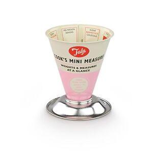 Tala Originals Retro Style Cook's Mini Dry Measure - Pink
