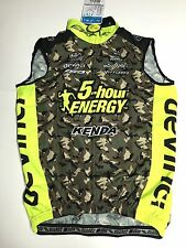 Suarez Size Small Wind Light Weight Cycling Vest Full Zip - New - 5-hour Camo
